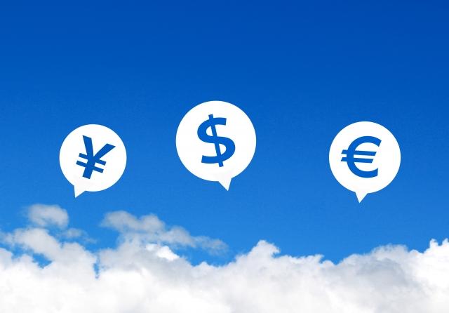 さまざまな通貨の画像