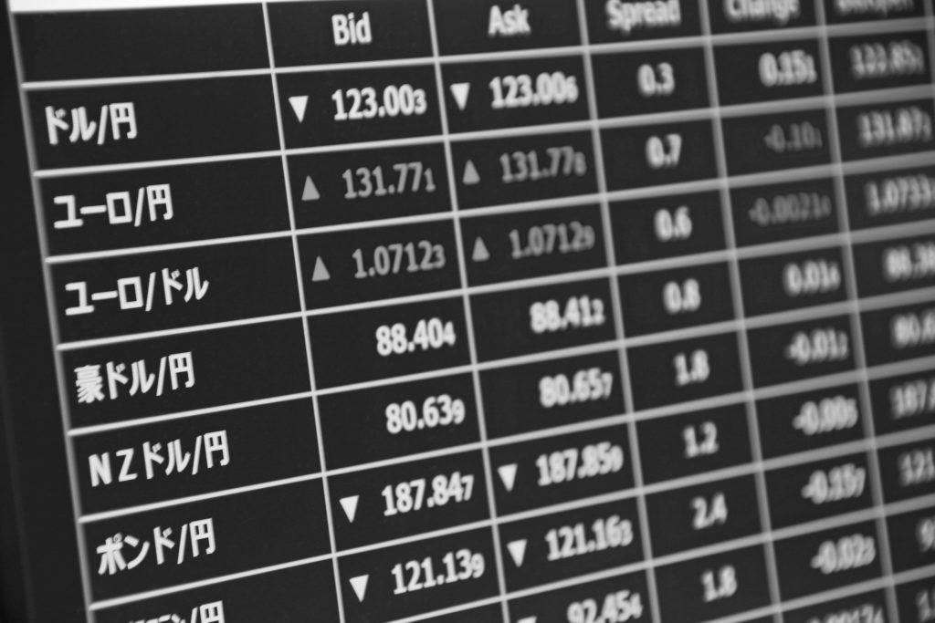 FX通貨ペアの画像
